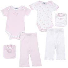 Cutie Pie Baby 6-Piece Now & Later Pretty Baby Pink Gift Box
