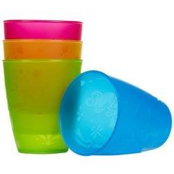 NUBY Embossed Cups - 9oz- 4pk - 1