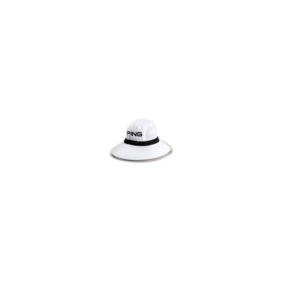 PING Boonie Hat White Large X Large on PopScreen f413fd1cc47
