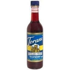 Torani Sugar Free Raspberry Coffee Syrup, 375 Milliliter -- 6 per case.