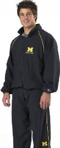 Cliff Keen Michigan Custom Wrestling Warm-Up Suit (Call 1-800-234-2775 to order)