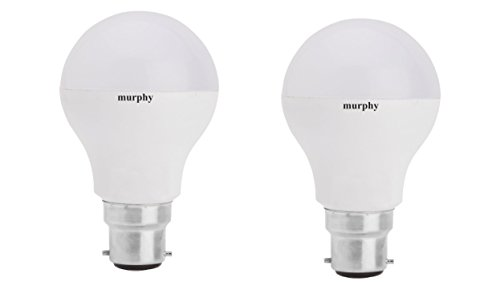 Murphy 9 W B22 LED Bulb (Cool Day Light, Pack of 2)