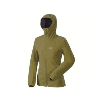 MILLET Monterosa shield hoodie Veste softshell femme miv4326 kaki