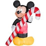 Disney 5.25ft Inflatable Lighted Mickey Mouse Christmas Decoration