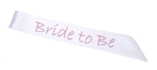 Bride To Be Sash with Pink Letters