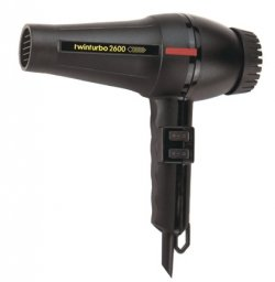 Turbo Power Twin Turbo 2600 Hair Dryer (Turbo Hair Dryer Professional compare prices)