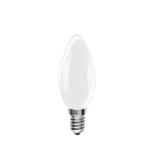 Rough ampoules 60 W Dépoli petit goulot Edison à vis (Lot de 10)