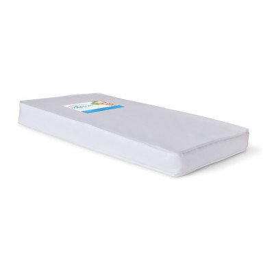 Foundations Worldwide Infapure Compact Crib Foam Mattress, White, 4""
