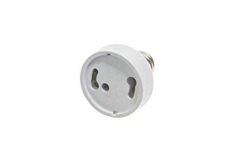 Shangge Ce&Rohs Certification 5 Pcs E17 To Gu24 Led Bulb Base Converter Halogen Cfl Light Lamp Adapter Socket Change Pbt
