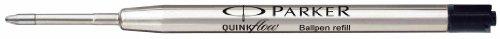 Parker - Quink: 1 Recharge Bille Quinkflow Couleur: Noir en Tube Plastique Taille: Moyenne