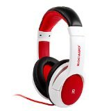 Kocaso HP-520 Dynamic Stereo Headphones With Built in Microphone (White)
