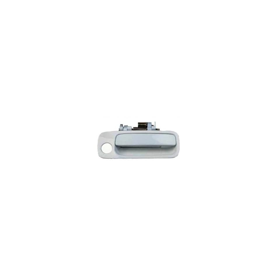 B454 Motorking 69220AA010C0 97 01 Toyota Camry White 040 Replacement Passenger Side Outside Door Handle 97 98 99 00 01