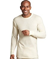 Long Sleeve Thermal Vest with Wool
