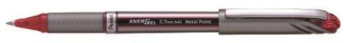 Pentel BL27 - Bolígrafo (Plata, Rojo, Metal)