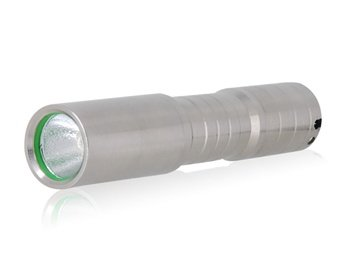 Ultra Fire C3 5-Modes White Led Flashlight (Silver)