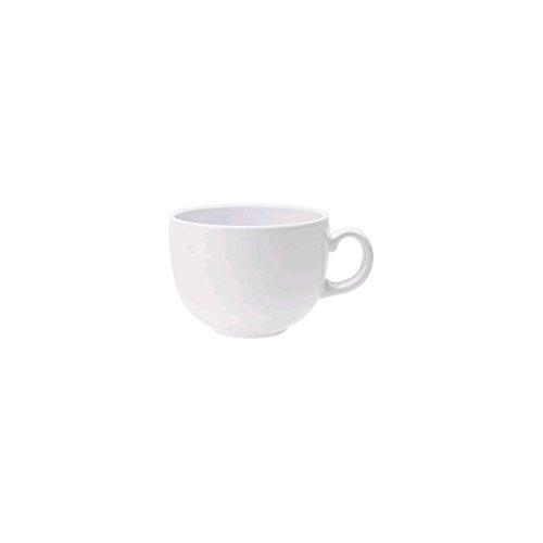 G.E.T. C-1001-W Diamond White 18 Oz Melamine Coffee Mug - 12 / Cs