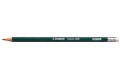 stabilo-lot-de-6-crayons-papier-othello-laque-vert-bout-gomme-2b