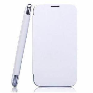 WHITE FLIP COVER OF MOBILE KARBONN TITANIUM S5 PLUS FREE SHIPPING available at Amazon for Rs.299
