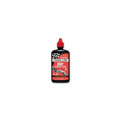 Finish Line Teflon Plus Dry Bike Lube - 4 oz Bottle - T00040101