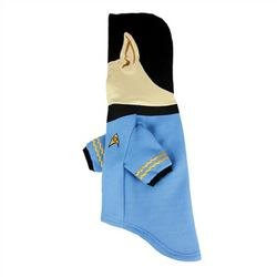 Star Trek Spock Dog Hoodie -  Plush Embroidered Ears and Sweatshirt