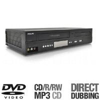 Philips DVP3345VB DVD/VCR Combo Player  Progressive Scan - Black
