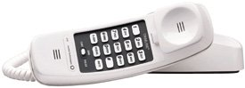 AT&T 210 Trimline Telephone WHITE