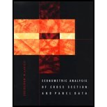 img - for Econometric Analysis of Cross Section & Panel Data (02) by Wooldridge, Jeffrey M [Hardcover (2001)] book / textbook / text book