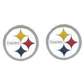 Studded NFL Earrings - Pittsburgh Steelers