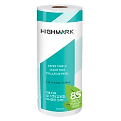 Highmark Brand 100% Recycled Paper Towels, 11in. x 9in., 85