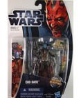 Star Wars: Clone Wars 2012 Animated Series 3.75 inch Cad Bane Action Figure by Hasbro
