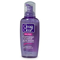 Buy Clean & Clear Continuous Control Acne Wash, Oil Free – 6 OZ (2 pack)