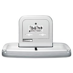 * Horizontal Baby Changing Station, 35 3/16 X 22 1/4, Cream * front-246949