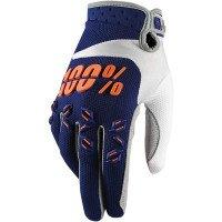 100 %  aIRMATIC bleu marine/orange taille l 2015 gants de cyclisme