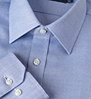 "2"" Longer Dri-Guard&#8482; SmartWeave Pure Cotton Textured Plain Shirt"