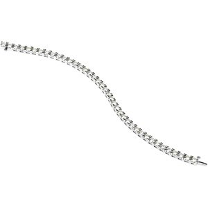Diamond Tennis Bracelet 18k White Gold 09 00 Ct Tw 7 1 4