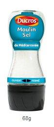 DUCROS - Produits stars - Moulins - Moulin sel de mediterranee - 60 g