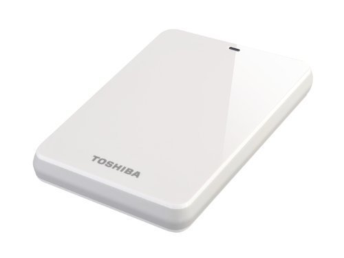 Toshiba HDTC610EW3B1 1TB STOR.E Canvio 2.5 inch Hard Drive - White