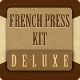Deluxe French Press Kit, Gift Basket