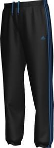 adidas Herren Trainingshose Essentials 3s Sweat Closed Hem, black/bright blue f12 XS, W63388