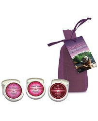 Earthly Body Romance Candle Trio 3/2Oz per Bag