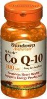 Sundown Q-Sorb Co Q-10, 100 mg 30 Softgels by Sundown Naturals (Co Q10 Sundown compare prices)