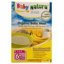 3x Baby Natura Organic Baby Meal Brown Rice Porridge Banana 120g From Thailand