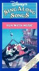 Disneys Sing Along Songs: Fun With Music [VHS]