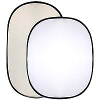Interfit INT298 Collapsible Rectangular Reflector 50-Inch x 60-Inch (Soft Sun/ White)