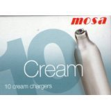Cream Chargers (Box of 100) - Nitrous Oxide Gas for Cream Whippers