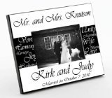 Mr. & Mrs. Wedding Frame ( Photo )