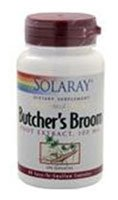 Solaray Butchers Broom Extract, 100Mg, 60 Count
