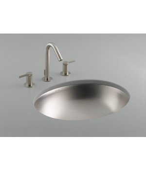 Bachata Stainless Steel Undercounter Bathroom Sink