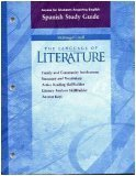 Access for Students Acquiring English Spanish Study Guide, Grade Ten, McDougal Littell the Language of Literature (Famil