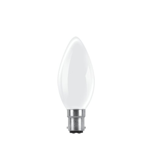 Rough ampoules 60 W Dépoli culot à baïonnette (Lot de 10)